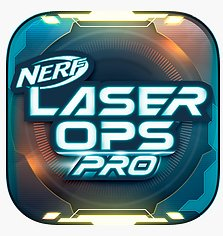 Nerf Laser Ops Button