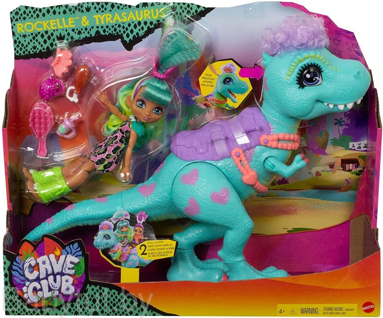 «Игровой набор Mattel Cave Club Доисторический питомец ...