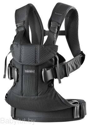 Рюкзак-кенгуру BabyBjorn One Air Mesh Черный