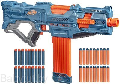 Бластер Нёрф Элит 2.0 Турбина КС-18 Nerf Elite 2.0 Turbine CS-18 E9481