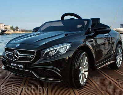 Электромобиль Mercedes Benz license, Sundays BJ169, 12V, черный