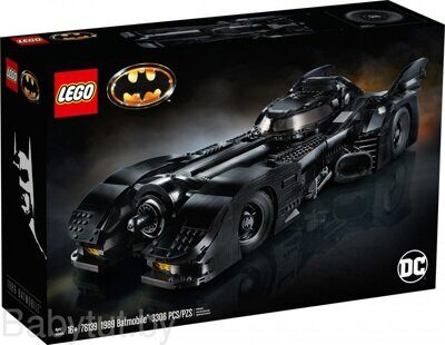 Конструктор Lego Super Heroes 1989 Batmobile 76139