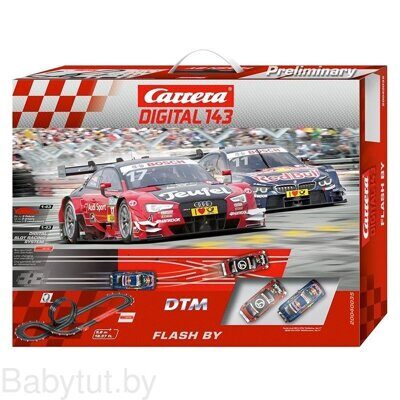 Трек Carrera Digital 143 DTM Flash By 40035