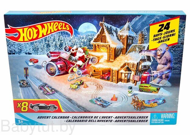 Адвент календарь Hot Wheels FKF95