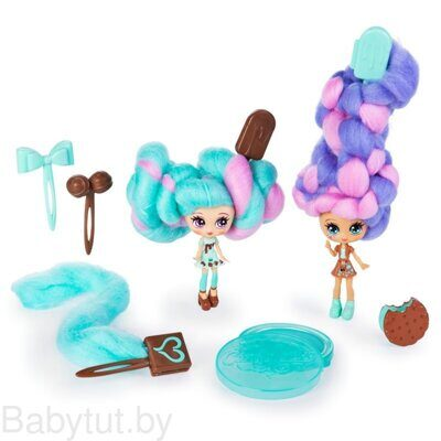 Набор из 2 кукол Candylocks Mint Choco Chick и Choco Lisa