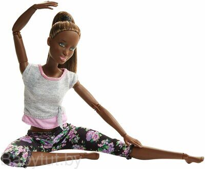 Кукла Барби Безграничные движения Йога Barbie Made To Move FTG83