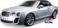 Bburago Модель машины Bentley Continental Supersports Бентли Континенталь