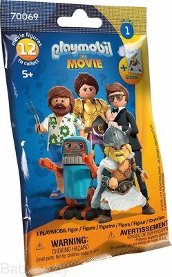 Конструктор Фигурка серия Movie Playmobil 70069