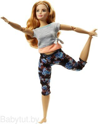 Кукла Барби Безграничные движения Йога Barbie Made To Move FTG84