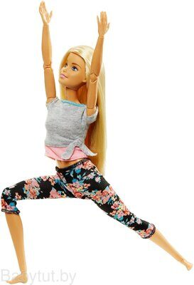Кукла Барби Безграничные движения Йога Barbie Made To Move FTG81