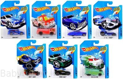 Машинка Hot Wheels серии Color Shifters BHR15