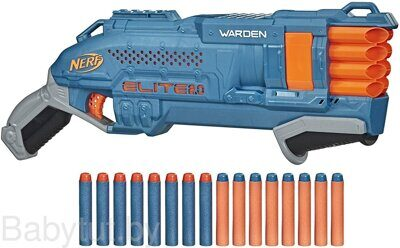 Бластер Нёрф Элит 2.0 Варден Nerf Elite 2.0 Warden DB-8 E9959