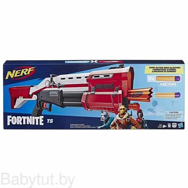 Бластер Nerf Fortnite TS-1 (Дробовик) E7065