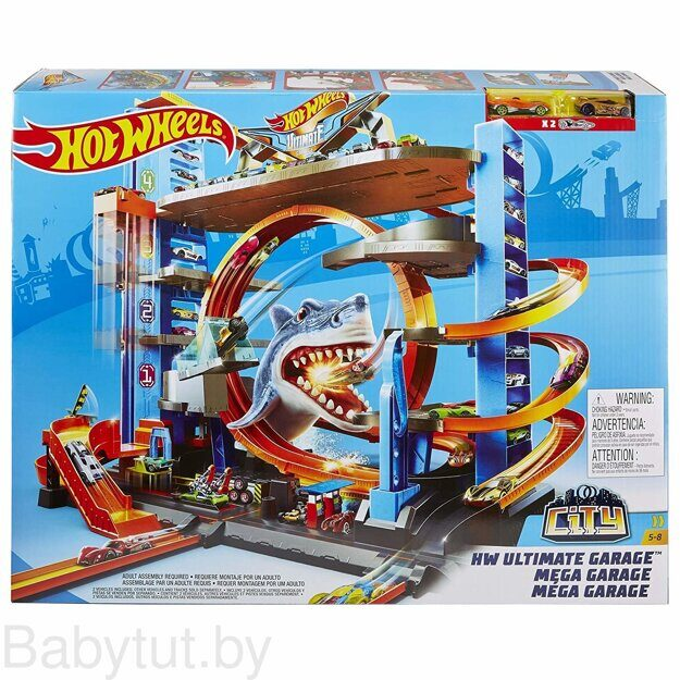 Мега Гараж Hot Wheels FTB69
