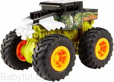 Машинка Hot Wheels Monster Trucks Bash-Ups GCF94