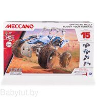 Конструктор Meccano Автомобиль Off-Road Rally 16210