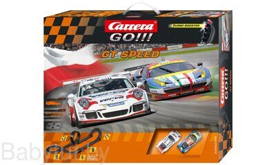 Трек Carrera GO!!! GT Speed 62398