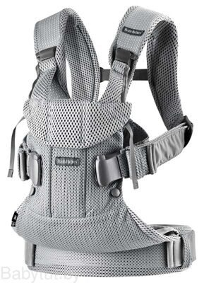 Рюкзак-кенгуру BabyBjorn One Air Mesh Серебристый